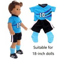 Comfortable Jersey Boy Friend Doll Suit For 18 inches Boys Sportswear clothing