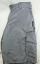 Mens  Burnside lightweight cargo shorts size 32