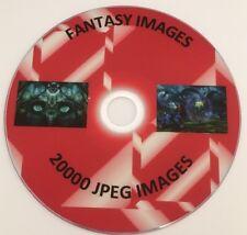 20,000+ Fantasy images JPEG origines DECOUPIS Carte Making Sublimation Imprimer