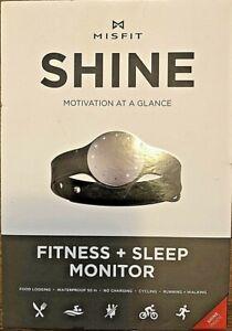 Misfit SHINE Motivation At A Glance Fitness + Sleep Monitor, Waterproof, GRAY