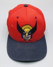 Vintage 1993 Marvel X-Men Wolverine American Needle Block Head Snapback Hat