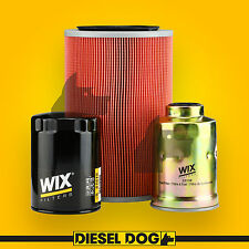 Air Oil Fuel Filter Service Kit - Mazda Bravo B2500 - Diesel Dog 60042