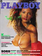 Playboy 2,02/1988 Februar,Kimberley Conrad,Regina Neder,M. do Santos,Geburtstag