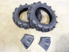 Two New 8 18 Duramax Ag Lug Compact Tractor Tires 6 Ply With Tubes