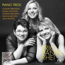 Trio Panta Rhei - Piano Trios [New SACD] Hybrid SACD