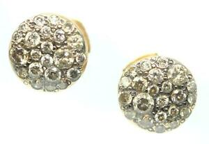 POMELLATO Ladies 18k Rose Gold & Round-Cut Diamonds Sabbia Stud Earrings