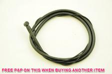 QUAD TEFLON COATED HIGH QUALITY FRONT MTB BRAKE CABLE BARREL NIPPLE BLACK