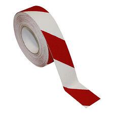 Antirutschband Universal Rot/Weiß 18m X 50mm Klebeband Selbstklebend