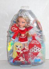 New Bratz Cloe Doll Christmas Holiday Red Santa Dress C15