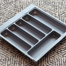Grey Textured Cutlery Tray for 500mm Drawer | Blum Metabox | Kitchen Storage