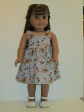"""Puppies & Paws Sundress for 18"""" Doll Clothes American Girl"""