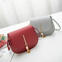 Mini Bag Women Messenger PU Shoulder Handbag Leather Purse Crossbody Bags Small