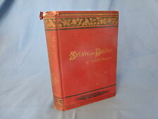 Sylvie and Bruno by Lewis Carroll 1st Ed. (1890) Hardcover