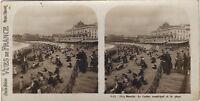 Biarritz La Spiaggia E Il Casinò Francia Foto Stereo Vintage Analogica