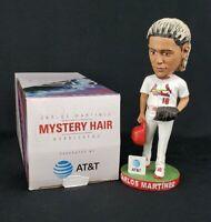 Carlos Martinez St Louis Cardinals White Mystery Hair Bobblehead SGA 6/30/2018