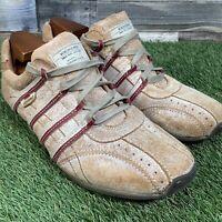 UK10 Kickers Casual Comfort Trainers - Unusual Worn Look Leather Shoes - EU44