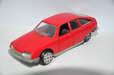 POLISTIL E 30 Citroen GS MADE IN ITALY E30 70er 70s Die Cast Modellauto red rot