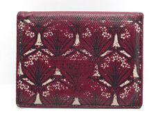 Liberty London Leather Card Travel Card Wallet Holder