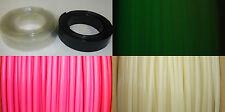 "1/4"" ID Heat Shrink PVC Tubing, Neon Pink, Black & other"
