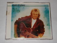 BLUE SYSTEM  CD SINGLE  MAGIC SYMPHONY (DIETER BOHLEN )