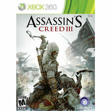 Xbox 360 : Assassins Creed III VideoGames