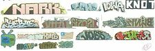 HO GRAFFITI DECALS VALUE PACK ASSORTMENT no 2  5 SETS CLEAR FILM FREE SHIPPING