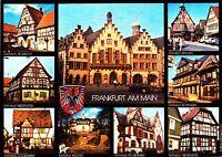 Frankfurt am Main , Ansichtskarte, gelaufen