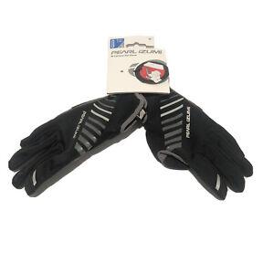 Pearl Izumi Elite Women's Cyclone Gel Bike Gloves Cycling Medium Black New