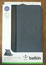 BELKIN CHAMBRAY STRAP COVER CASE w/ STAND FOR GALAXY NOTE 10.1 SLIM LIGHTWEIGHT