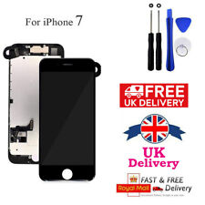 Black For iPhone 7 4.7'' Touch Screen LCD Digitizer Complete Replacement Camera