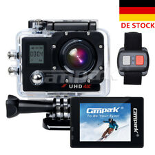 Campark ACT76 WiFi 1080P 16MP 4K Action Kamera Sport Cam mit Dual LCD Bildschirm
