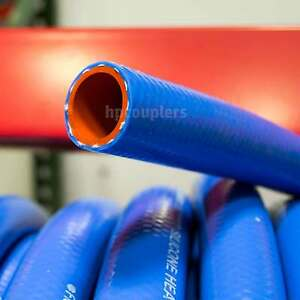 "1"" ID FlexFab 5526 Blue Silicone Heater Hose 25mm 350F Radiator Coolant 1.00"""