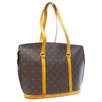 LOUIS VUITTON BABYLONE SHOULDER TOTE BAG MONOGRAM PURSE M51102 VI0937 A54493