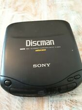 Vintage Sony D-132CK Discman Portable CD Player Walkman sold as not working