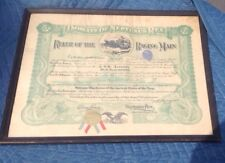 1921 Domain of Neptunus Rex Ruler Of Raging Main U.S.S. Kanawha Navy + Dog Tag