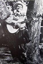 GENE AUTREY singing cowboy clipping B&W photo w/ Martin D-45 guitar 1930s