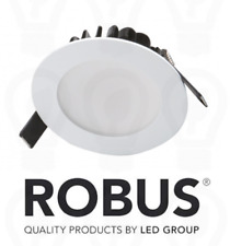 Robus Infinity ~ LED Downlight ~ Dimmable Recessed ~ 10w ~ IP44 ~ Inc Driver