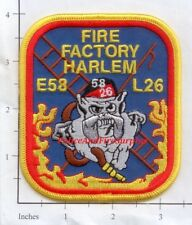 New York City NY Fire Dept Engine 58 Ladder 26 Patch v28