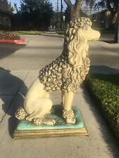 Absolutely Gorgeous Vintage Poodle Statue