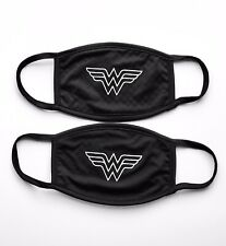 Wonder Woman Face Mask | Multi Layer Fabric | Handmade In USA | 2 pack