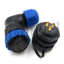 SD20 3Pin Waterproof Connector Auto LED Connector Industrial Heavy Connector