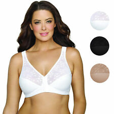 Exquisite Form Women's Fully Front Closing Support Posture Bra With Lace 5100565