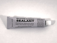 1oz Clear Silicone Adhesive, Sealant, Glue