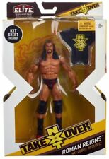 WWE Mattel ELITE COLLECTION NXT TAKEOVER ROMAN REIGNS ACTION FIGURE NEW & SEALED
