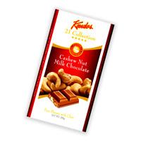 World famous Kandos Cashew Nut Milk  Premium Quality Chocolate 200g