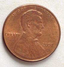 USA 1 Cent coin 2007