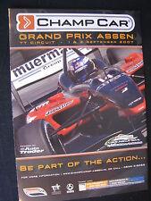 Flyer Champcar Grand Prix Assen TT Circuit 1 & 2 september 2007 (TTC)
