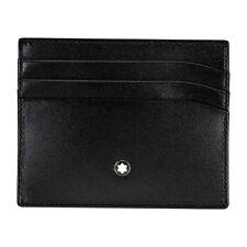 Montblanc Meisterstuck Selection Black Leather Pocket Holder 106653