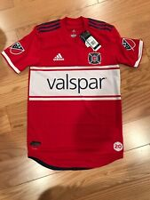 adidas MLS Chicago Fire Authentic Home Jersey 2018 Size Small BNwT CD3702