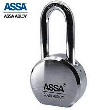 Assa - Max+ / Maximum+ High Security Restricted Solid Steel Sfic Padlock with 2